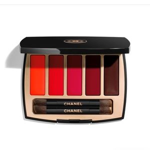 Chanel lipstick pallette